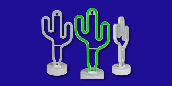 5 prodotti inutili xtribe 2018 lampada cactus