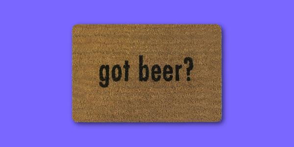 5 prodotti inutili xtribe 2018 zerbino birra