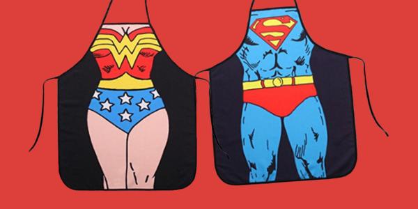 San Valentino grembiuli supereroi